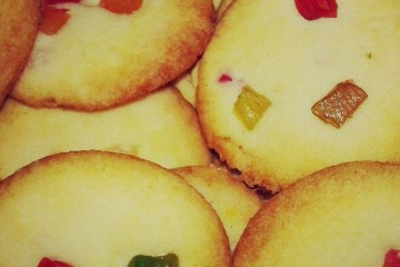 How to make eggless Tutti frutti cookies