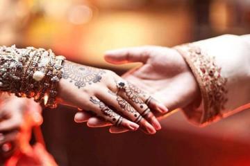 Bride marries guest