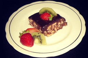 How To Make Instant Frutti Chocolate Biscuit Cake