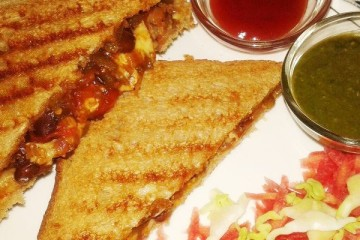 How To Make Nutritious Kidney Beans Grill Sandwiches