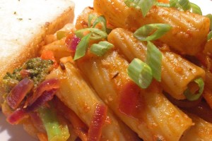 how to make masala pasta