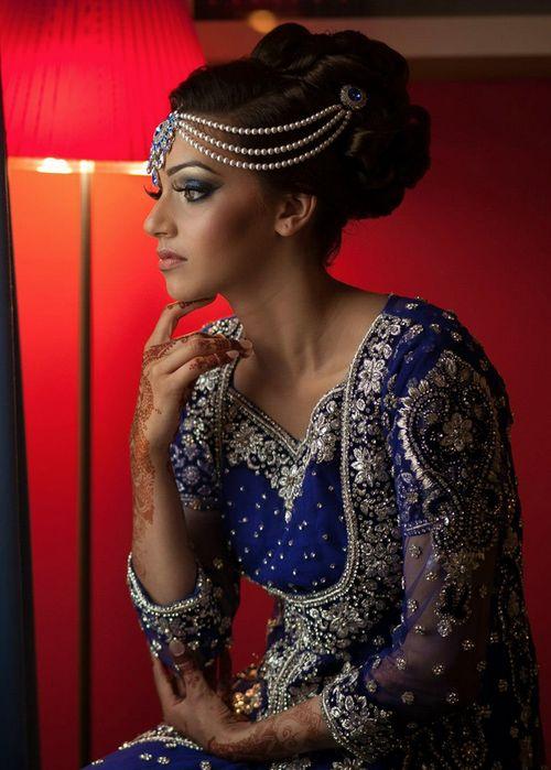 Maharani Style Bun