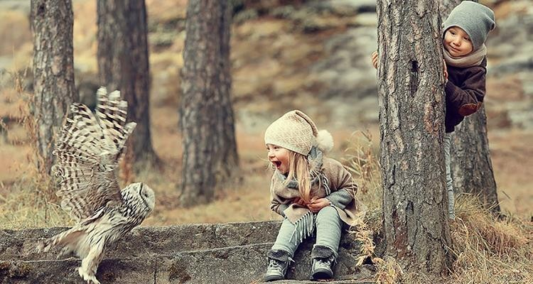 Most Adorable Photoshoots Of Children And Animals Cuddling