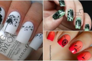 15 Cute Dandelion Nail Art Ideas And Tutorials