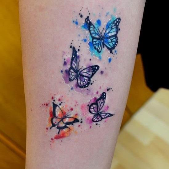 20 wrist butterfly tattoo ideas that can never go wrong for any girl. Black Bedroom Furniture Sets. Home Design Ideas