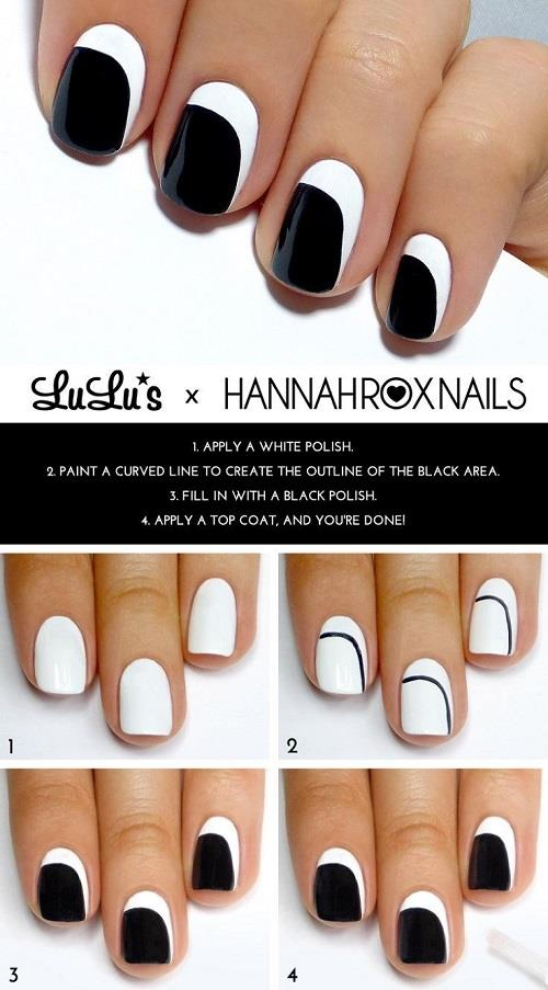 17 Easy And Cool Step By Step Nail Art Tutorials - Womentriangle
