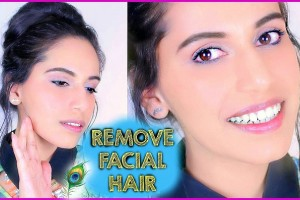 An Easy Way To Remove Facial Hair Naturally At Home