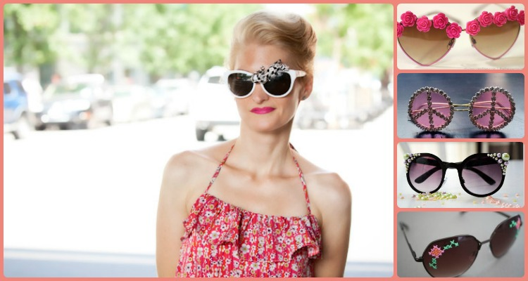 Interesting Ways To Spruce Up And Diy Sunglasses