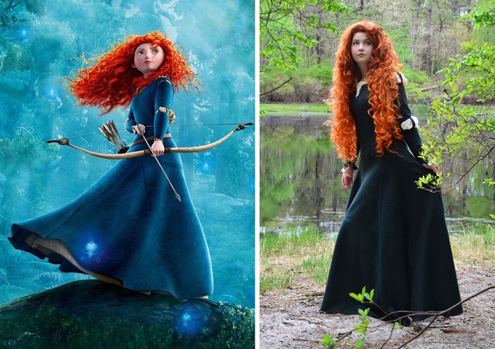 Disney Princess Dresses By The 18 year Old Angela Clayton Is Just Fabulous!
