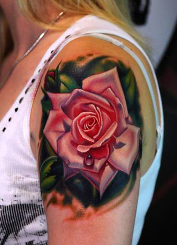 Rose on Arm