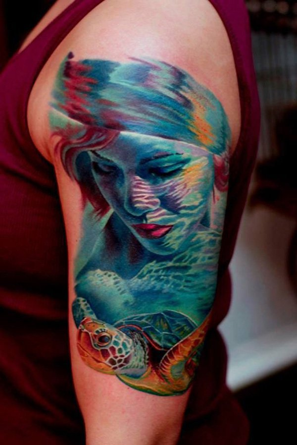35 Awe Inspiring 3d Tattoo Designs