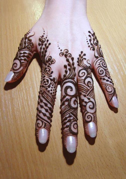 12 Elegant And Unique Finger Mehndi Designs