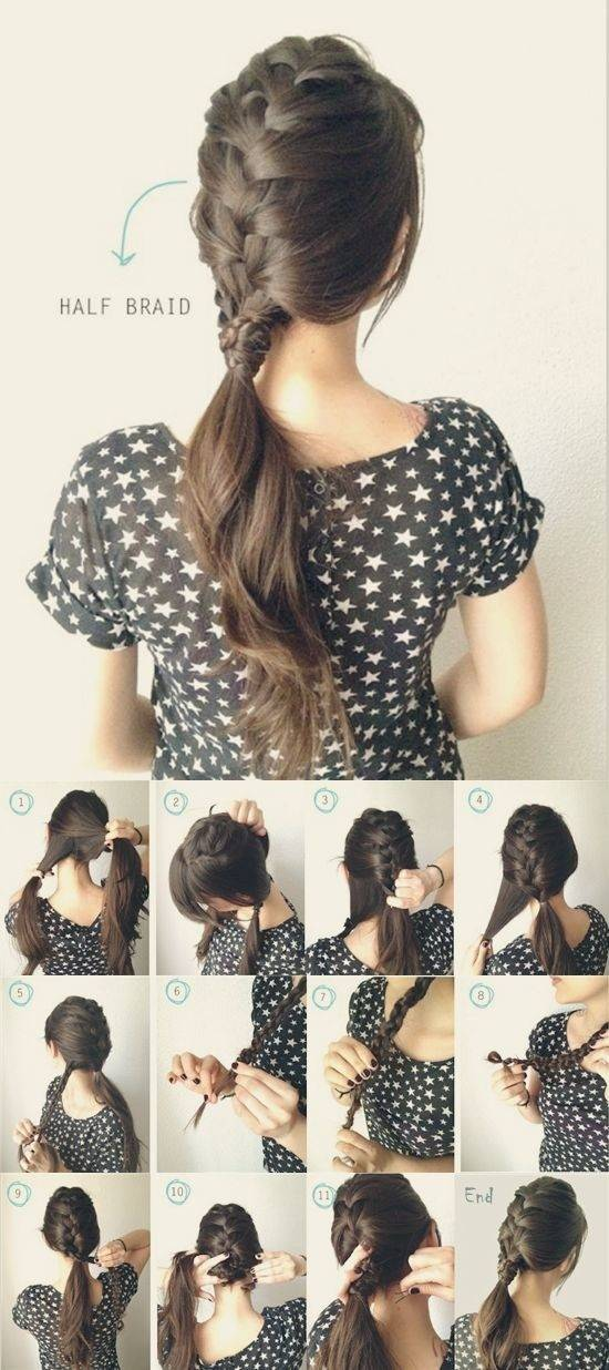 French Braid Hairstyle Tutorial