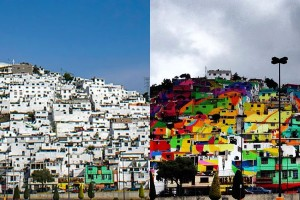 Mexican Government Let Street Artists Paint 200 Houses
