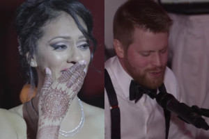 The Canadian Man Singing Tum Hi Ho For His Bride Is Adorable!