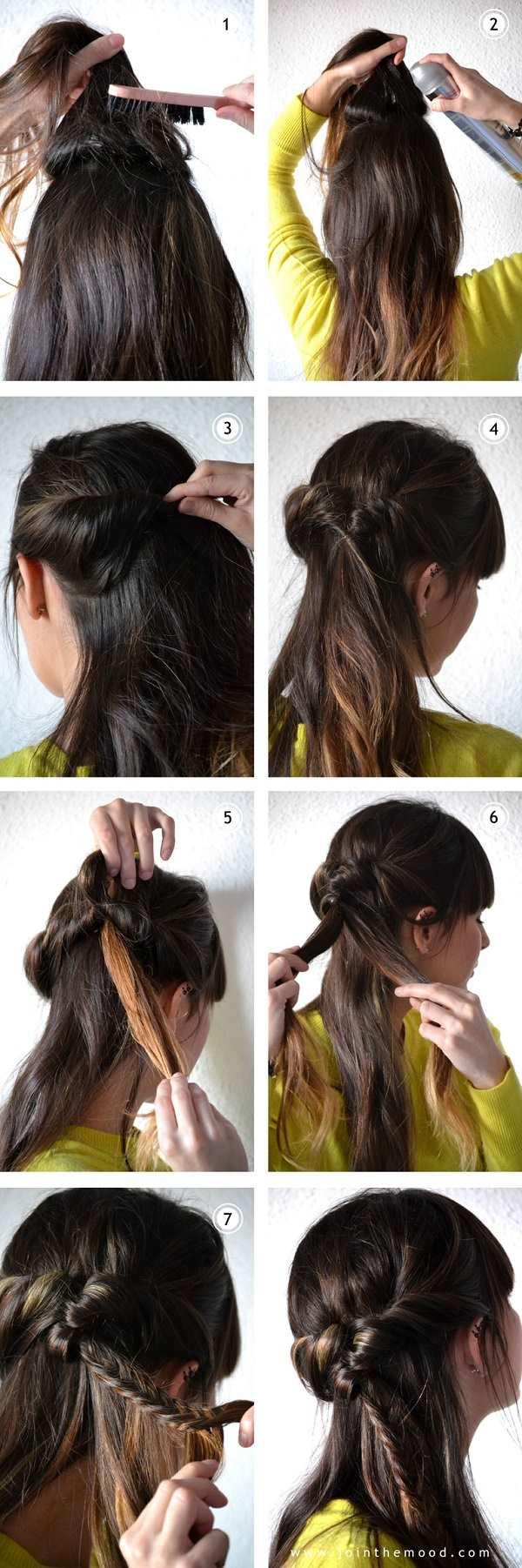 Twist Braid Hairstyle Tutorial