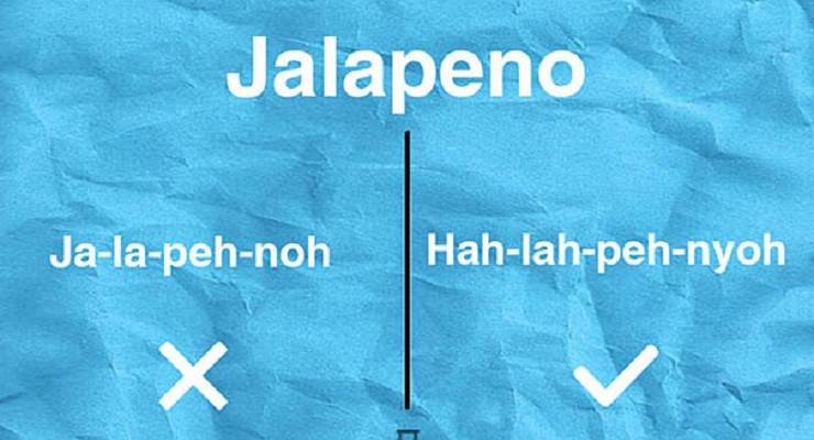 mispronounced food names words digtoknow