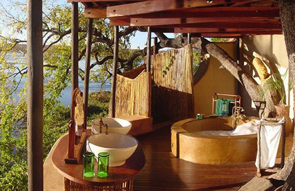 Beautiful Wooden Bathroom