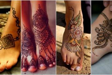21 Outstanding Leg Mehndi Designs