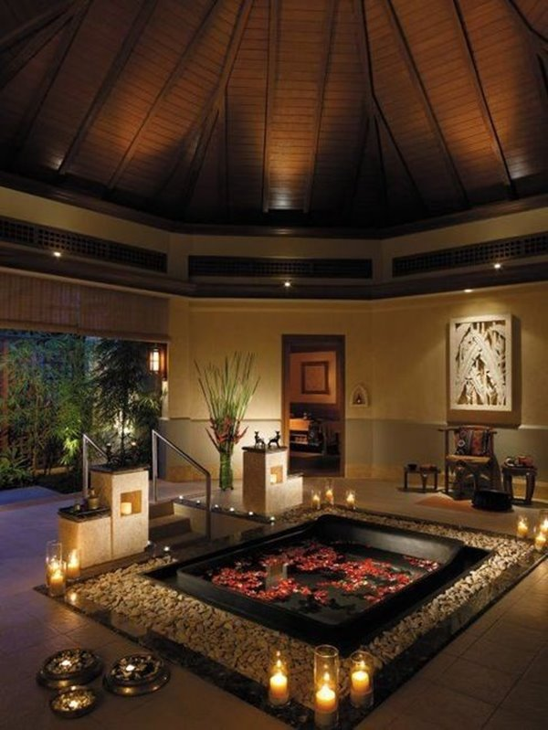 The romantic Bathroom