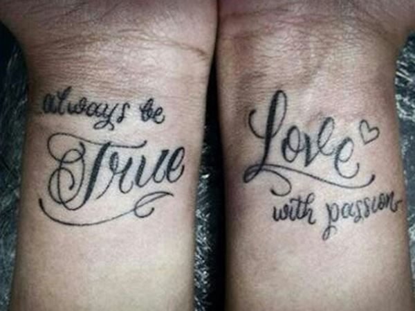 Always be True...Love with passion