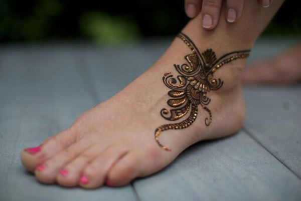 Mehndi Legs Images : Outstanding leg mehndi designs womentriangle