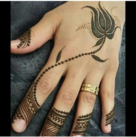 exquisite mehndi design 3