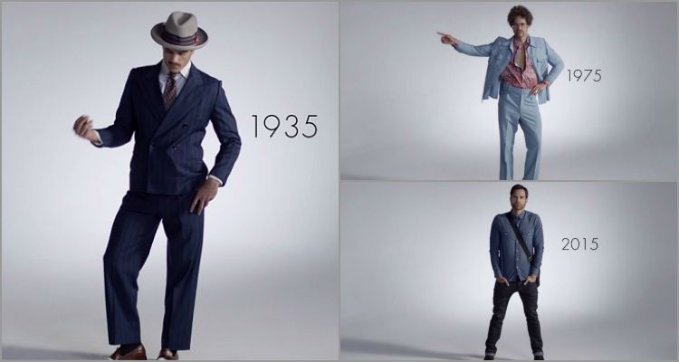 100 centuries of mens fashion