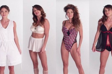 See How Lingerie Has Evolved Over The Past 100 Years In 3 Just Minutes