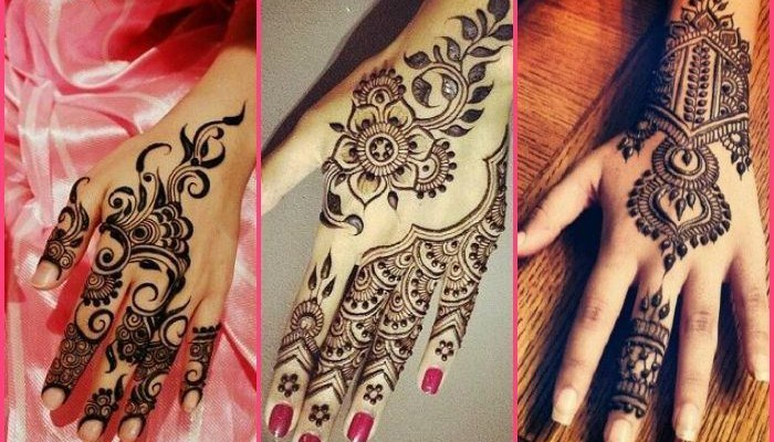 Back Mehendi Designs