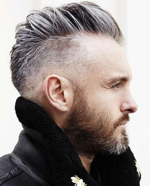 Perfect undercut for the grey shades