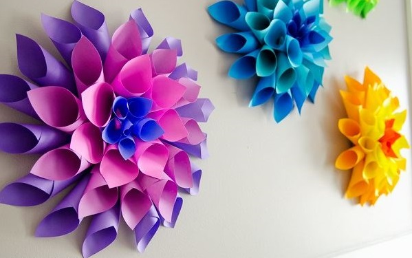 10 paper flower decoration styles that will make any place look marvy dahlia flowers dahlia paper flowers mightylinksfo