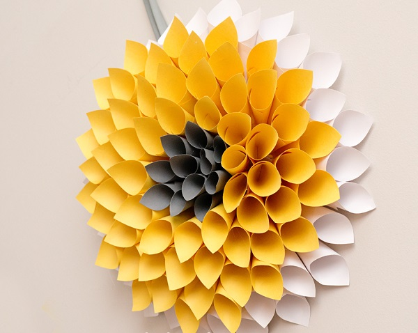 10 paper flower decoration styles that will make any place look marvy dahlia paper flowers mightylinksfo