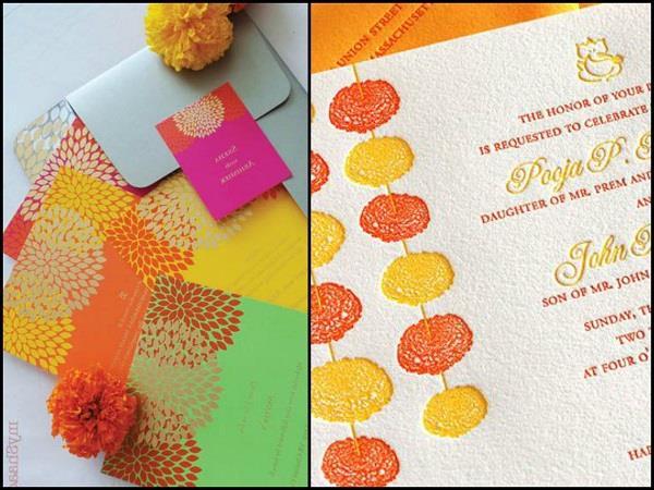 Marigold Inspired designs