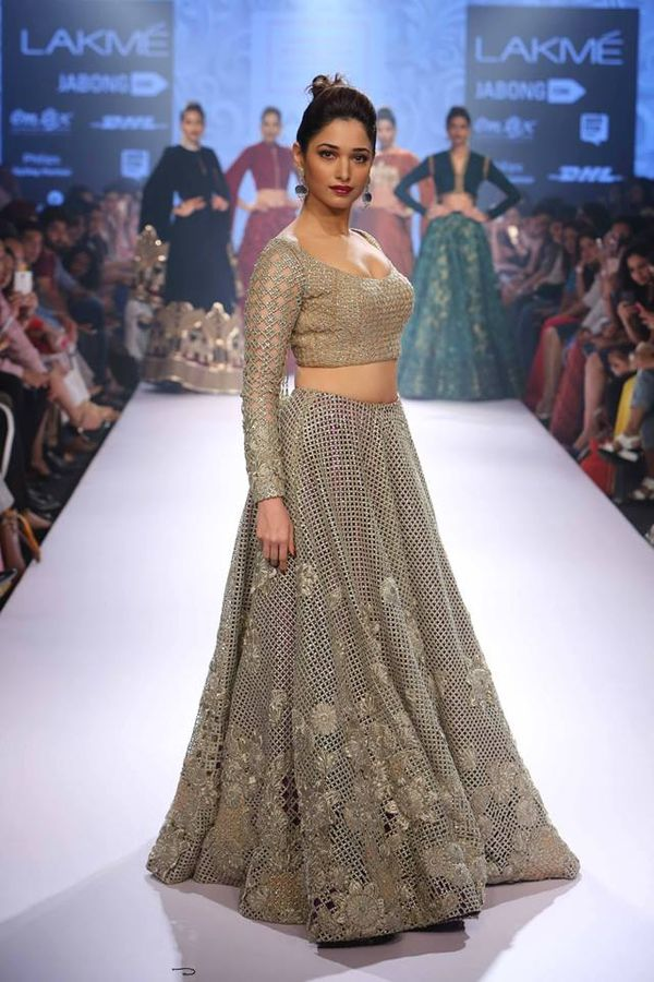 Neeta lulla collection at lakme fashion week winter/festive