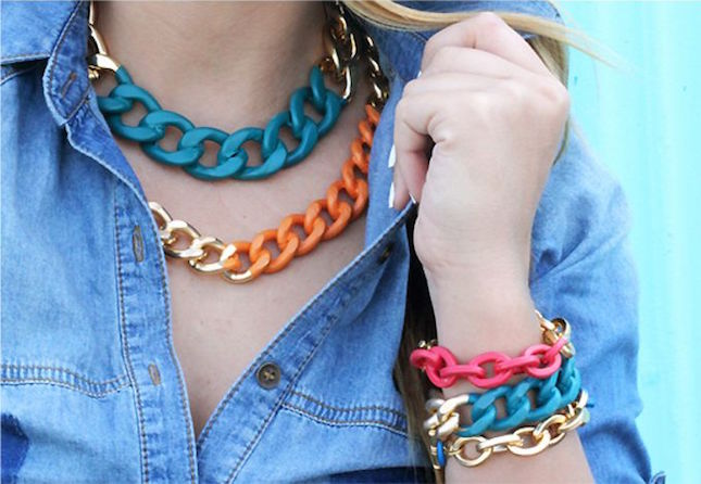 bright chain jewelry
