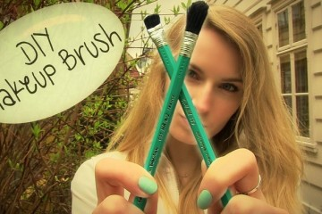how to diy makeup brushes