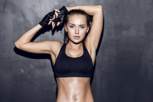 victoria's secret model's fat blasting workout