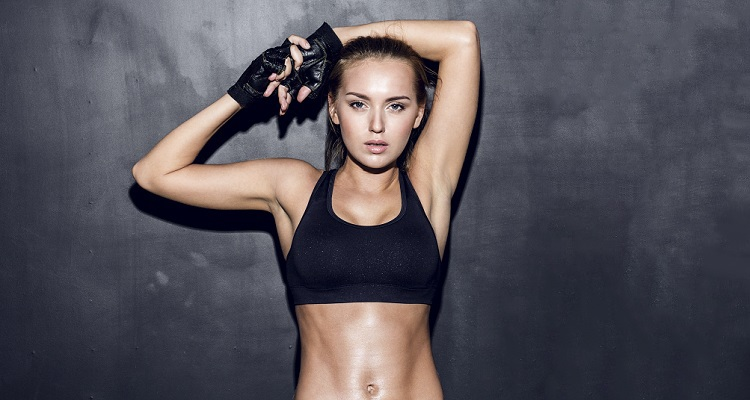 victoria's secret model's fat blasting workout