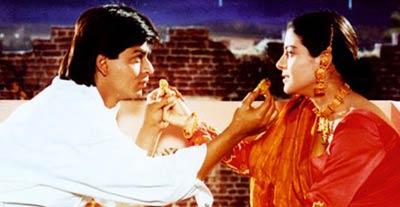 SRK and Kajol DDLJ Karva Chauth