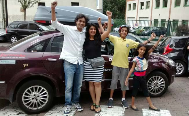 Bengaluru to Paris Family Trip -119201514