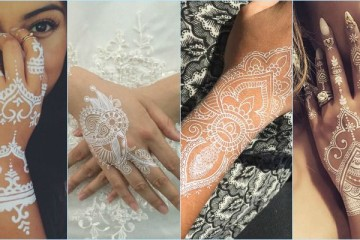 Best White Mehndi Designs