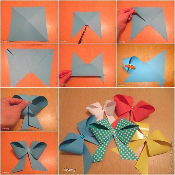 Cute Paper Ribbon Bow