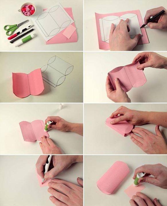 Little Strip Paper Pouch
