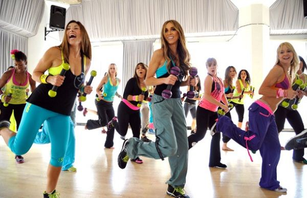 Zumba is upbeat and fun