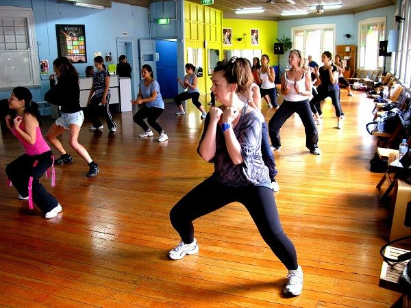 aerobics benefits of Zumba