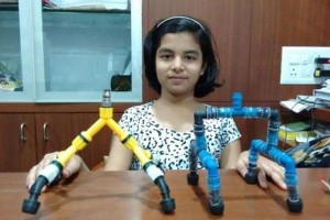 12-year-old Shrusti Nerkar Invention Can Save Water In Showers