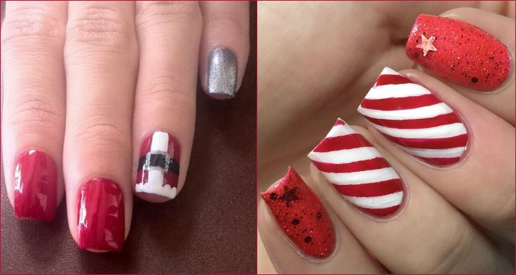 Best Nail Art Design: 16 Best Nail Art Designs For Christmas