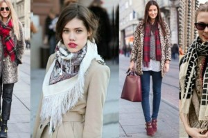25 stylish ways to wear a scarf