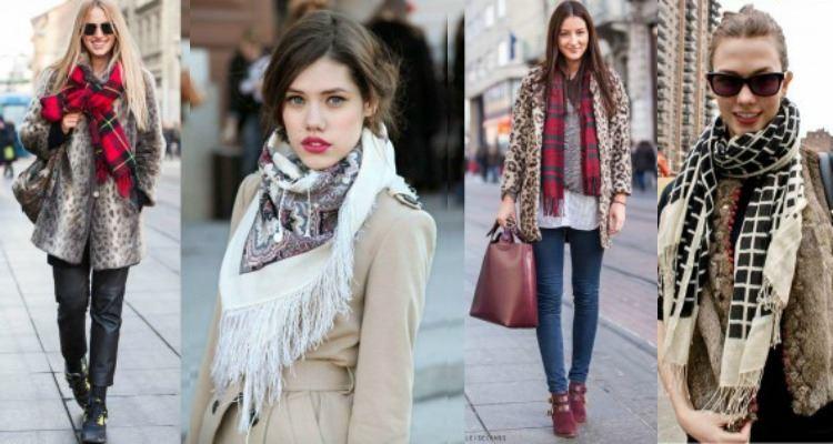 25 stylish ways to wear a scarf